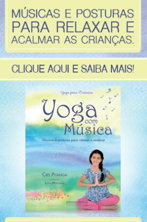 Livro Yoga com Música, da Cris Pitanga