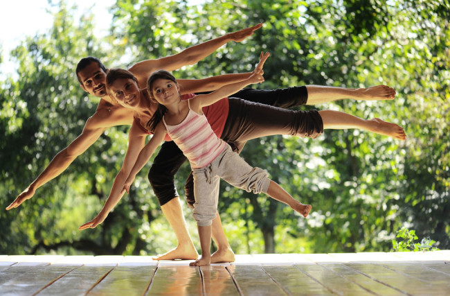 Os Benefícios do Yoga para Pais e Filhos
