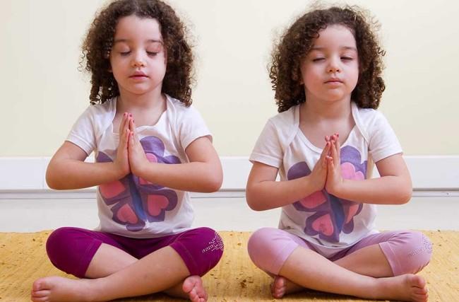 A Yoga para Crianças na Prevenção do Stress Infantil