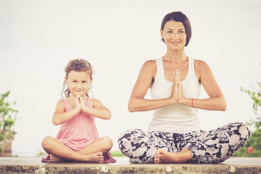 A Yoga para Crianças na Transformação dos Pequenos