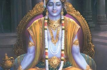 Uma visão do Senhor Krishna