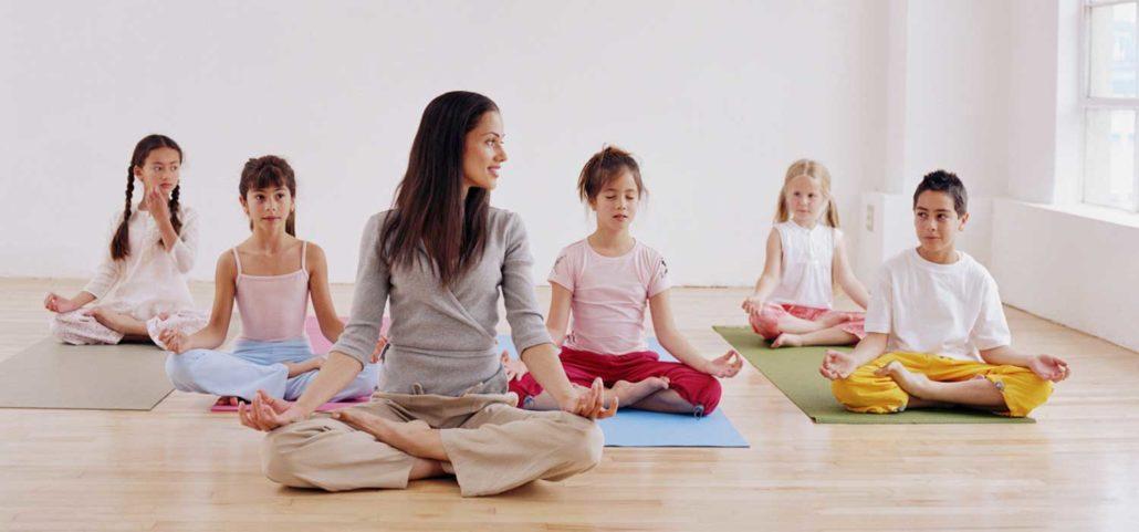 Yoga para Crianças - A Chave para Viver no Mundo